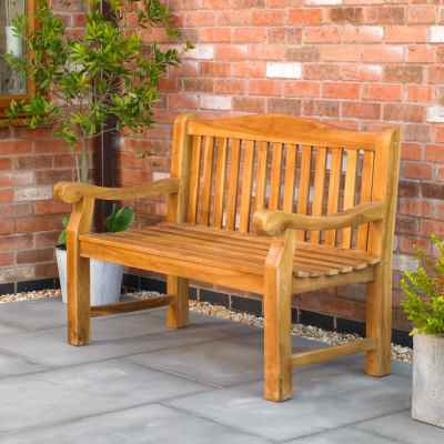 Heavy Duty Teak Bench