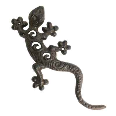 Cast Iron Wall Gecko