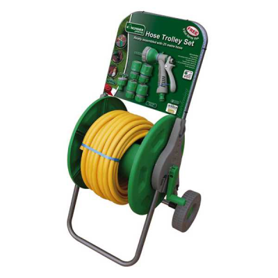 25m Complete Hose Trolley Set