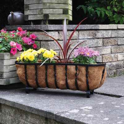 24in Free Standing Trough Planter