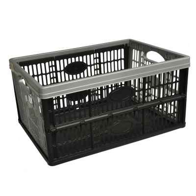 32L Flat Pack Plastic Storage Crate