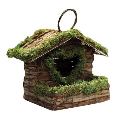 Love Bush Wood Nesting Box