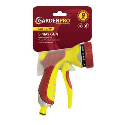 Garden Pro 9 Dial Soft-Grip Deluxe Spray Gun