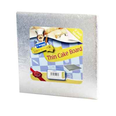8 Inch Square Thick Cake Board