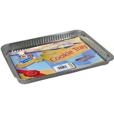 3 Pack of Rectangular Foil Cookie Trays