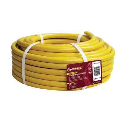 Pro Gold 30m Yellow Reinforced Garden Hose