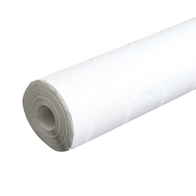 25m White Paper Banqueting Roll
