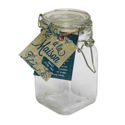 Small Clip-top Jar