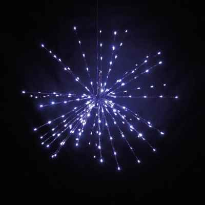 80cm Multi Action Hanging Star