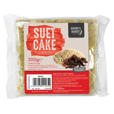 Suet Cake with Wild Fruit