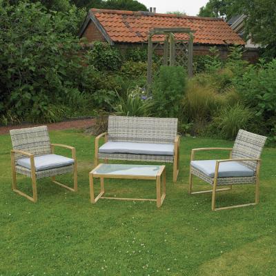 4Pcs Rattan Furniture Set