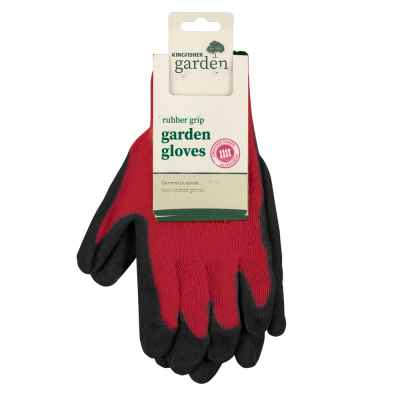 Large Rubber Grip Garden Gloves