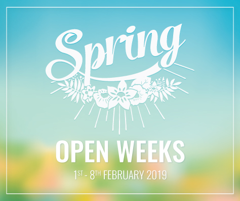 Bonningtons Spring Open Week