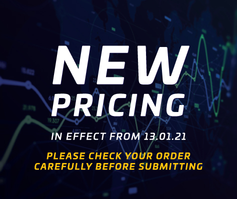 New pricing