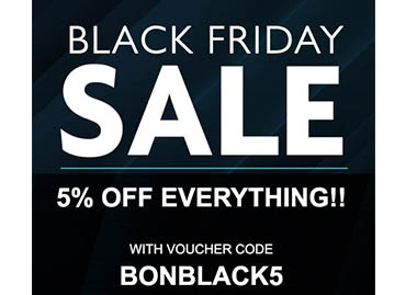 5% off Everything for Black Friday?  Go on then!