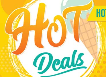 8 Hot Deals for a Hot Summer!