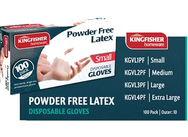 Latex Disposable Gloves - Price Drop!
