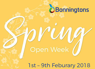 Spring Open Week - 1st - 9th February 2018 - Register Your Place Now!