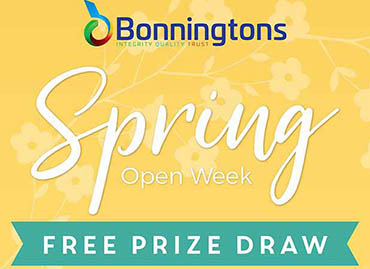 Bonningtons Spring Open Week - Winner of the £500 Prize Draw Announced!