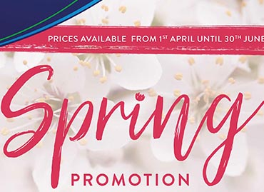 Here  is your Spring Promotion for 2018
