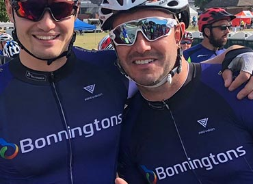 Team Bonningtons take on Cycle Live 2018