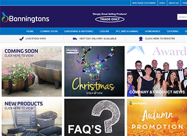 14 REASONS WHY WE LOVE THE NEW BONNINGTONS WEBSITE!