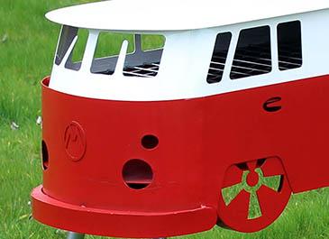 New Camper Van BBQ