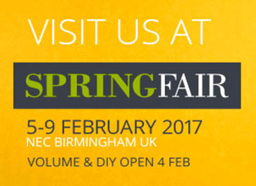 5 Great Reasons to Visit Us at Spring Fair 2017