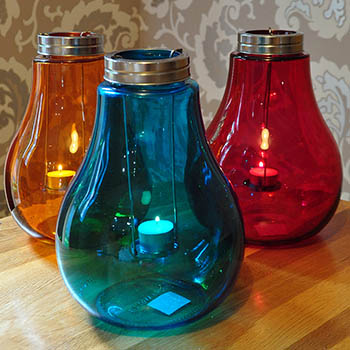 large bulb tea light holder