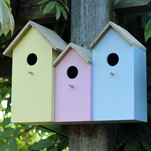 3 in 1 Wooden Nesting Boxes