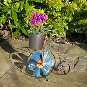 penny farthing planter