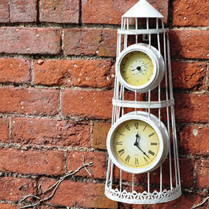 Lighthouse Outdoor Clock